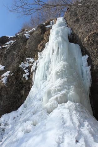 自然堂氷の滝ツアー