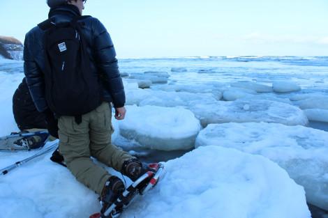 氷の滝ツアー